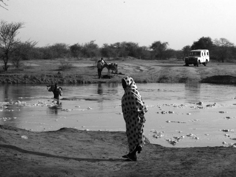 05 River crossing - rainy season in Darfur- 13June2006 - CSheehan